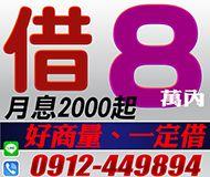 【好商量一定借】快速24H | 8萬內 民間信用借款【即樂貸】