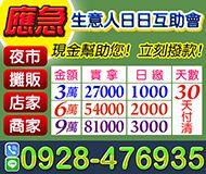 【生意人應急 日日互助會】現金幫助您 | 3-9萬 30天可付清 夜市攤販店家商家【即樂貸】